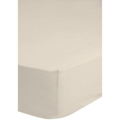 Emotion Spannbettlaken Jersey 180x220 cm Ecru 0200.01.47