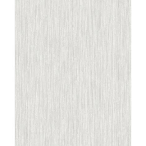 Empapelado texturado Profhome VD219127-DI papel pintado vinílico estampado en caliente tejido non tejido gofrado unicolor efecto satinado crema marfil-claro 5,33 m2
