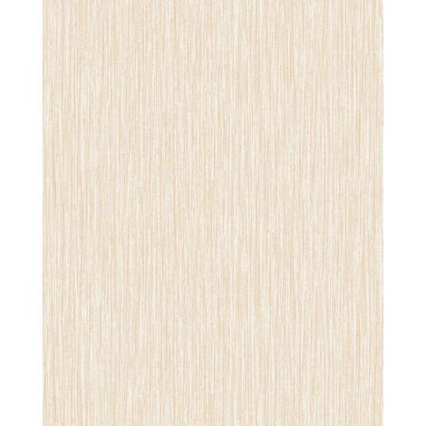 Empapelado texturado Profhome VD219129-DI papel pintado vinílico estampado en caliente tejido non tejido gofrado unicolor efecto satinado beige verde-manzana 5,33 m2