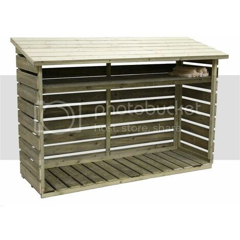 Empire Log Store - Available in Different Sizes