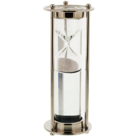 Emporium Collection - Nickel Finish Water Tube Timer