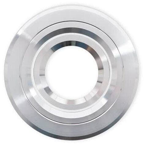 Empotrable Andros redondo aluminio/cromo Gu10