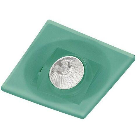 empotrable cuadrado basculante duna verde CRISTALRECORD 20-110-00-160