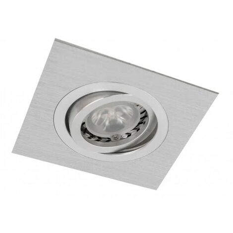 Empotrable Cuadrado Basculante Itaca Aluminio Cromo