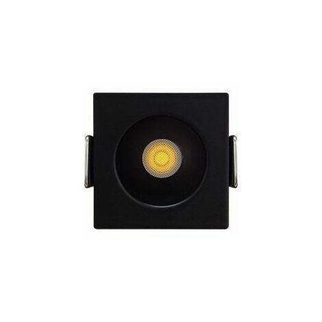 Empotrable cuadrado Beneito Faure PULSAR C 4454 Negro 2700K