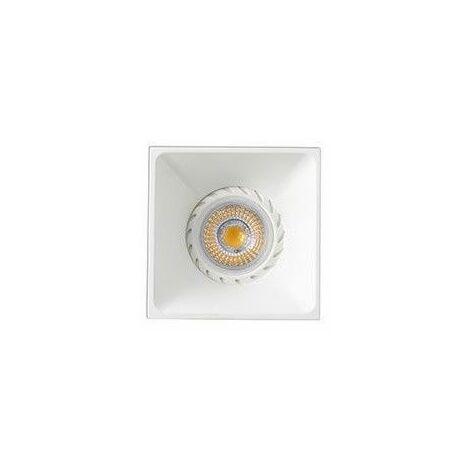 Empotrable cuadrado de techo Faro Barcelona NEON 43400 blanco