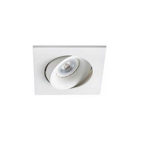 Empotrable cuadrado orientable de techo Faro Barcelona ARGON 43402 Blanco