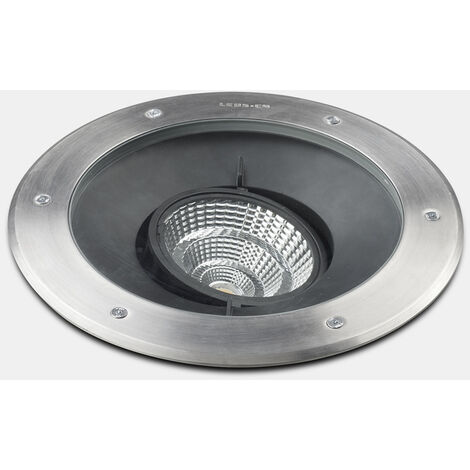 EMPOTRABLE DE SUELO IP65/IP67 GEA COB LED ALUMINIUM DIAMETRO 125MM STRUCTURE LED 9 BLAN - Leds-c4 Outdoor - Ref: 55-9906-CA-CL