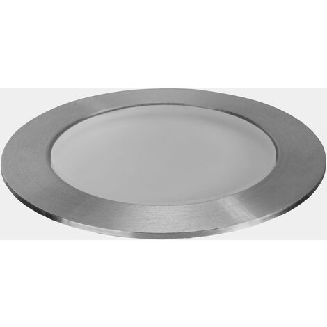 EMPOTRABLE DE SUELO IP65/IP67 RIM LED 1 BLANCO CALIDO - 3000K PULIDO 17 - Leds-c4 Outdoor