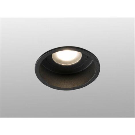 Empotrable de techo Faro Barcelona HYDE 40115 negro para baños IP44