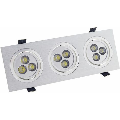 Empotrable Led Alu New 3l Color: Alu