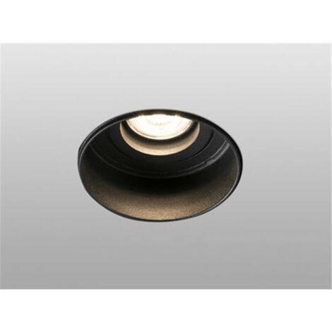 Empotrable orientable de techo Faro Barcelona HYDE 40111 negro sin marco (trimless)