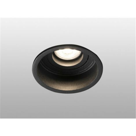 Empotrable orientable de techo Faro Barcelona HYDE 40119 negro