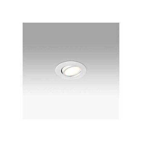 Empotrable orientable redondo de techo Faro Barcelona KOI LED 42921 Blanco