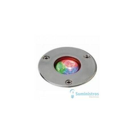 EMPOTRABLE PAL SLIM IP68 LED 4W RGB INOX