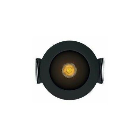 Empotrable redondo Beneito Faure PULSAR R 4300 Negro 2700K