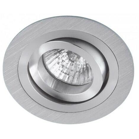 Empotrable Redondo Eros Aluminio cromo gu10