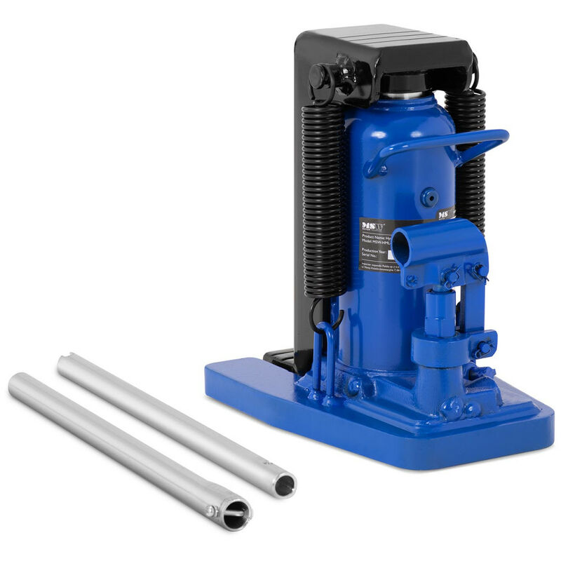 MSW - Cric Hydraulique 5 / 6 Tonnes À Patte Lève-Machine Levage 22-141 / 298-409 mm