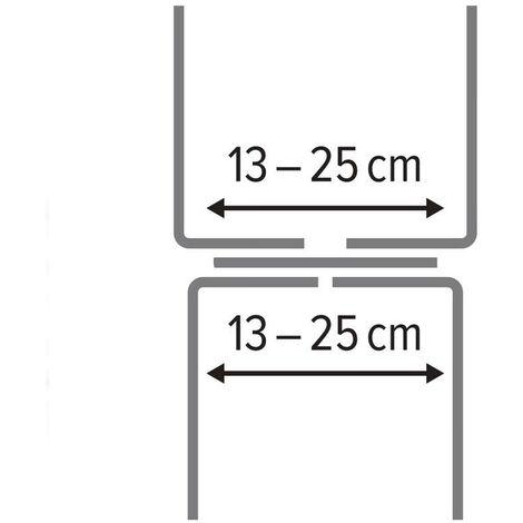 Emsa-SPECIAL Blumenkastenhalter Mauer, aluminium