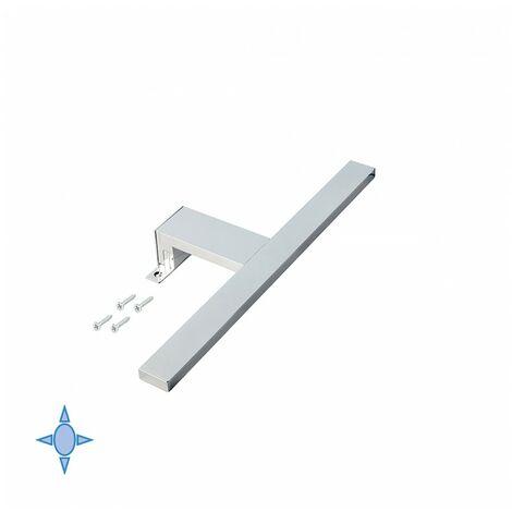 Emuca Aplique LED para espejo de baño Sagitarius 800 mm y luz fría