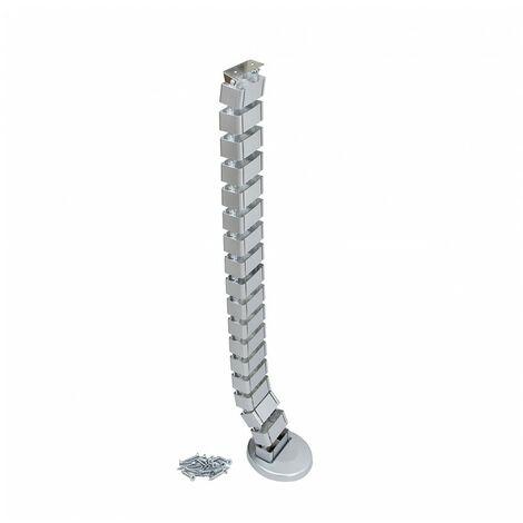 """main image of """"Emuca Columna pasacables, Plástico, Gris metalizado"""""""