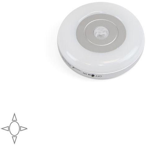 Emuca Luminaire LED Crater rechargeable par usb avec détecteur de mouvement