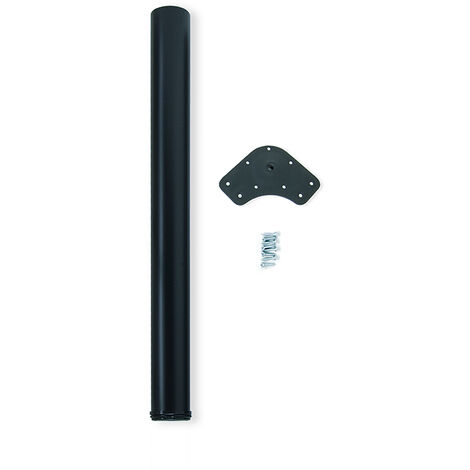 """main image of """"Kit de 4 pieds réglables pour table D. 60 x 710 mm en acier chromé"""""""