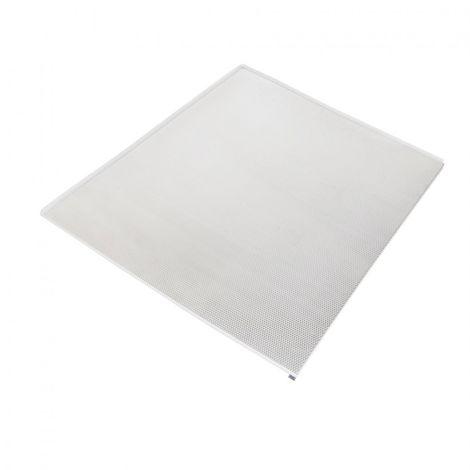 Emuca Protector fondo mueble cocina, M100, 968 x 580 mm, espesor 16 mm, Aluminio