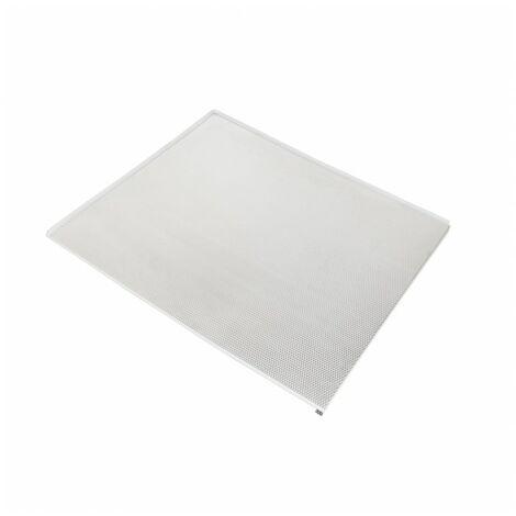 Emuca Protector fondo mueble cocina, M60, 568 x 580 mm, espesor 16 mm, Aluminio