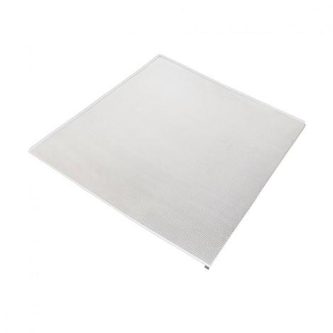 Emuca Protector fondo mueble cocina, M80, 768 x 580 mm, espesor 16 mm, Aluminio