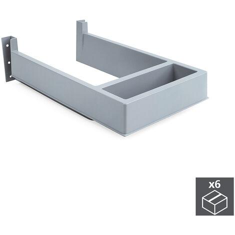 Emuca Sous-évier rectangulaire pour tiroir de salle de bain
