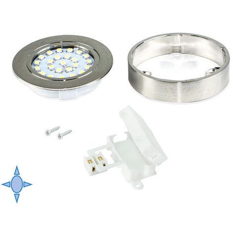Emuca Spot LED Crux-in avec support et lumière froide