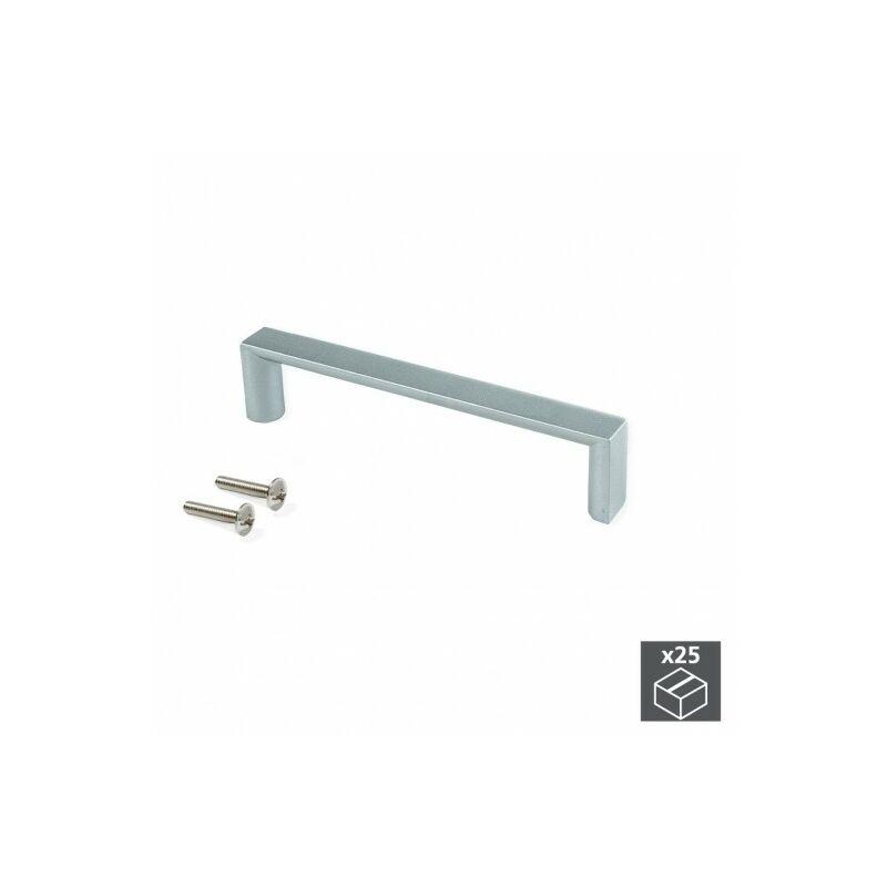 Tiradores para muebles y armarios de cocina incluye tornillos 96 mm gris