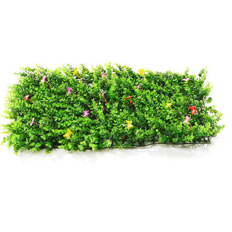 Emulational Ivy Artificial Ivy Leaf Plastic Garden Screen Wall Landscaping Fake Grass Plant Wall Backdrop Decorations Garden Fence (typeA)