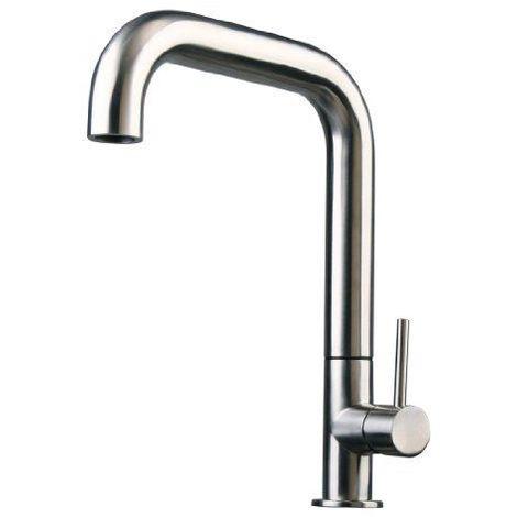 En acier inoxydable cuisine / salle de bain / lavabo / robinet lavabo brossé 63c