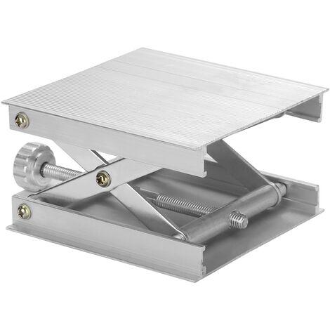 En Alliage D'Aluminium Laser Niveau De Levage Plate-Forme Support Leveling Machine Lift Stand 62Mm Hauteur Ajustable