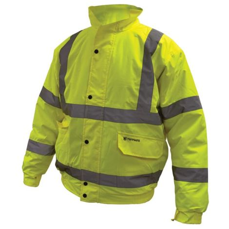 EN471 CL3 High Visibility Yellow Bomber Jackets
