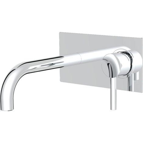 Encarond mitigeur lavabo chromé encastré - Chromé