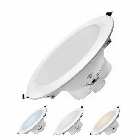 - Encastrable LED 16W - Triple couleur de blanc - NOVA - DeliTech®