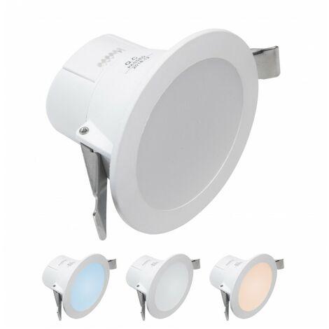 - Encastrable LED 7W - Triple couleur de blanc - NOVA - DeliTech®