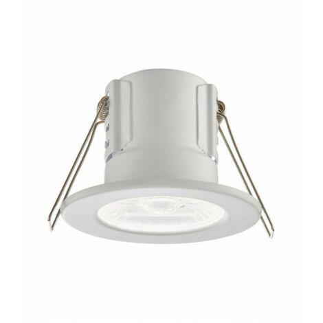 Encastrable salle de bains ShieldECO Acier 4W Blanc