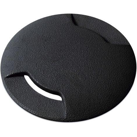 Encastré BELGRADO-9 IP67 GU10 9,2cm 2em Noir