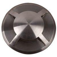 Encastré sol Fusion 4 sorties LED 3x1W Argent - GARDEN ZONE -