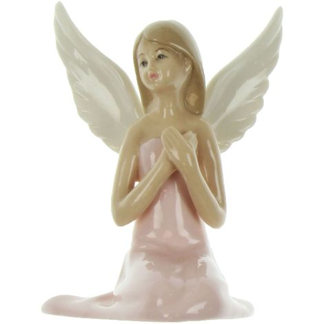 Enchanted Fairy in Pink Dress Figurine 10cm