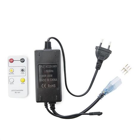Enchufe Controlador Tira LED 230VAC Frío/Cálido (WM-CONT-FC-ES)