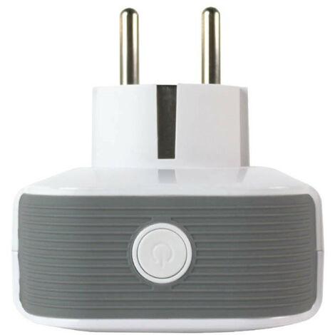 Enchufe Inteligente WiFi con USB control vía Smartphone/APP 7hSevenOn Home