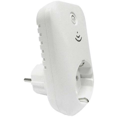 Enchufe Inteligente WiFi control Smartphone/App Blanco 7hSevenOn Elec