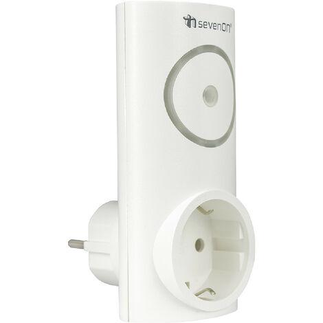 Enchufe Inteligente WiFi Controlador de Aire Acondicionado vía Smartphone/APP 7hSevenOn Home