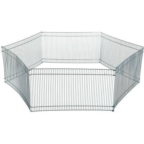 Enclos ø 90 × 25 cm pour hamsters ou souris (contient 6 grilles)