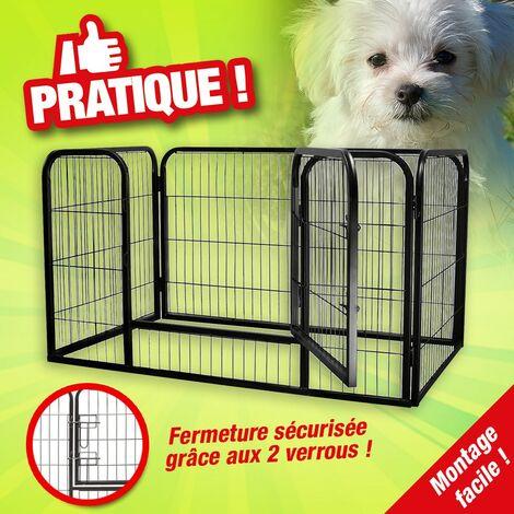 Enclos acier pour chien ou autre animal de compagnie